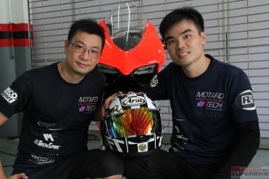 Benson Che(left) and Roy Li